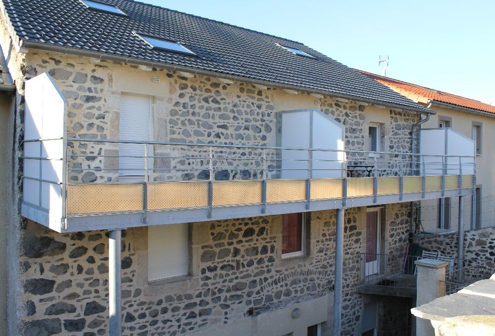 Bon Terrasse Et Garde Corps En Acier Galvanisé   Plancher IP Idees De Conception